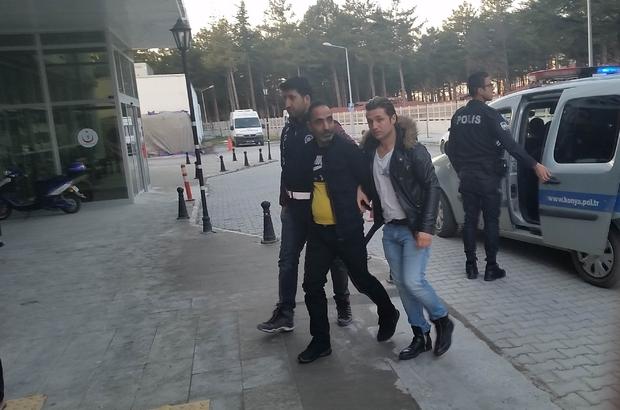İnşaattan hırsızlık şüphelileri tutuklandı