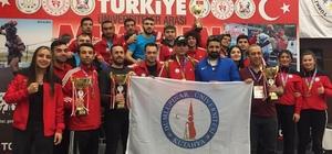 DPÜ Muay Thai Takımı Türkiye Şampiyonu