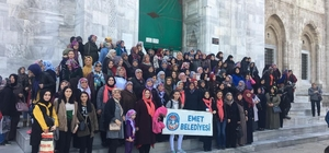 Emet Belediyesi'nden Dünya Kadınlar Günü'nde Bursa gezisi