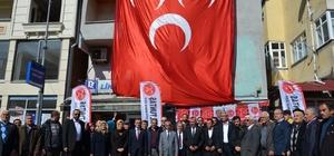 Kastamonu MHP İl Başkanlığı Pınarbaşı seçim irtibat bürosunun açtı