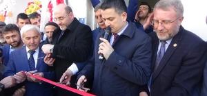 Bakan Pakdemirli Altıntaş'ta Seçim Bürosu açılışına katıldı