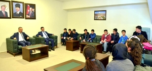 Konyalı Öğrenciler, güreş şampiyonası'nı izleme imkânı buldu