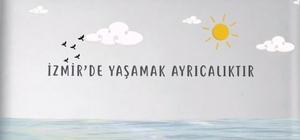 """Zeybekci İzmirli gençlere animasyon filmiyle seslendi """"Gelin İzmir'imizi birlikte tasarlayalım"""""""