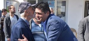 Başkan Serkan Acar, Güzelhisar'da alkışlarla karşılandı