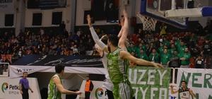 TBL 1. Lig: Petkim Spor: 85 - Mamak Belediye Yeni Mamak Spor: 82