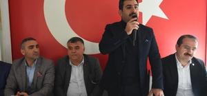 Erzurumlulardan Uğurlu'ya tam destek Erzurumlular Derneğinden Cumhur İttifakına destek