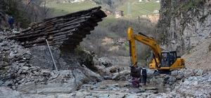 Asırlık ahşap köprü restore ediliyor