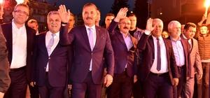"""Tuna, Silifke ve Erdemli'de halkla buluştu Cumhur İttifakı MHP Mersin Büyükşehir Belediye Başkan Adayı Hamit Tuna: """"Büyük düşünüp, güçlü Mersin'i oluşturacağız"""""""