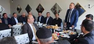 AK Parti İl Teşkilatı Bahşılı'da muhtarla bir araya geldi