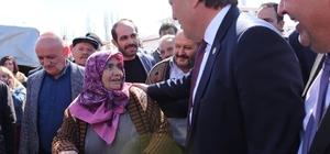 """İyi Parti Büyükşehir Belediye Başkan Adayı Ataş, """"31 Mart'ta kucaklaşalım ve bunlara bir ders verelim"""""""