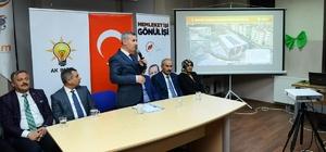"""Beylerderesi Şehir Parkında çalışmalar sürüyor Yeşilyurt Belediye Başkanı Mehmet Çınar: """"Beylerderesi Şehir Parkı bölgemizin gelişiminde önemli rol oynayacak"""""""