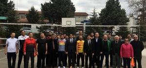Hekimhan'da Kurumlararası Voleybol Turnuvası başladı