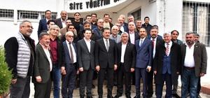 """Tuna: """"Anketlerde açık ara öndeyiz"""" Cumhur İttifakı MHP Mersin Büyükşehir Belediye Başkan Adayı Hamit Tuna, seçim çalışmaları kapsamında Akdeniz ilçesinde ziyaretlerde bulundu"""
