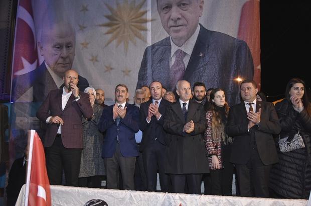 Başkan Togar ve Milletvekili Köktaş mahalleli ile buluştu