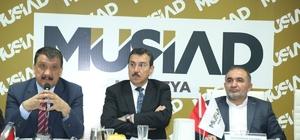 """AK Parti Büyükşehir Adayı Gürkan, gezilerini sürdürüyor Gürkan: """"Malatya'daki birleşmeyi hizmete dönüştürmeliyiz"""""""