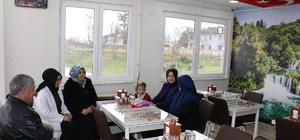 Vali'nin eşi Nurgül Dağlı Şehit ailesini ziyaret etti