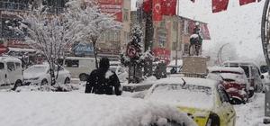 Hakkari'de Mart ayında kar sürprizi Lapa lapa kar yağışı yerini sisle havaya bıraktı