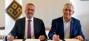 Kapadokya Üniversitesi ile Azerbaycan Hazar Üniversitesi arasında işbirliği protokolü imzalandı