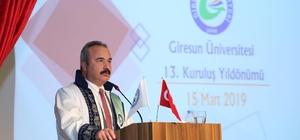 Giresun Üniversitesi 13. yılını başarılarıyla kutladı