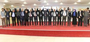 Başkan Öztürk Ak Parti Teşkilat Mensuplarıyla Buluştu