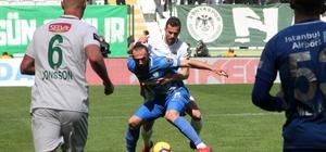 Spor Toto Süper Lig: A.Konyaspor: 0 - Çaykur Rizespor: 1 (İlk yarı)