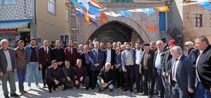 Başkan Palancıoğlu Büyükbürüngüz mahallesinde vatandaşlarla bir araya geldi