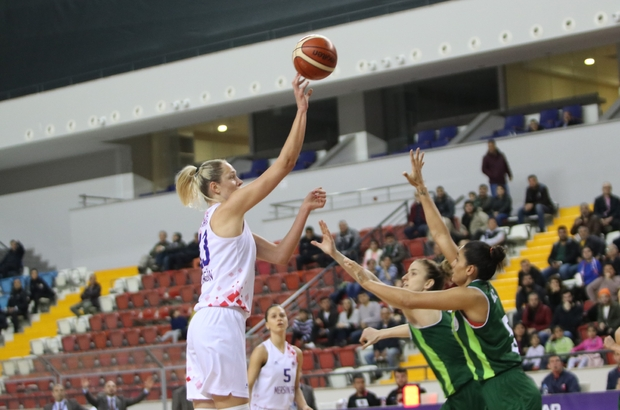 Kadınlar Basketbol Süper Ligi: Mersin Büyükşehir Belediyespor: 79 - OGM Ormanspor: 80