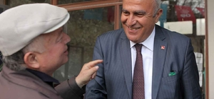 CHP Efeler adayı Mehmet Fatih Atay, Kalfaköy'ü ziyaret etti