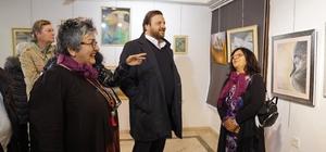 Başkan adayı Yazıcı, Karma Sanatlar Sergi açılışına katıldı