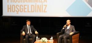Bilal Erdoğan ile Başkan Fadıloğlu gençlerle buluştu Erdoğan ŞMS'ye hayran kaldı