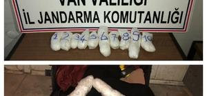 Gevaş'ta 3 kilo 179 gram uyuşturucu ele geçirildi