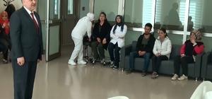 Kayseri Şehir Hastanesi'nde Tıbbi Hizmetlerin Yanında Verilen Manevi Destek Hizmeti de Hastalardan Tam Not Aldı