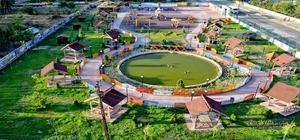 Kangal'da 17 bin metre kara park alanı Sivas'ın Kangal ilçesinde Kangal belediyesi tarafından oluşturulan 17 bin metre karelik yeni park alanları ile oyun alanları çocuklar için güvenli hale geldi