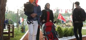 Başkan Çeçrioğlu, Zeybek Parkı Aydınlıların hizmetine açtı