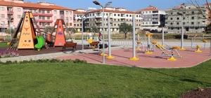 Burhaniye'de 5 yılda 42 park yapıldı