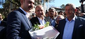 """Bakan Kurum, kentsel dönüşüm için müjdeyi verdi Bakan Kurum: """"1 Nisan'da başlar 3 senede teslim ederiz. Ayhan Gider'e desteğimiz tam"""""""