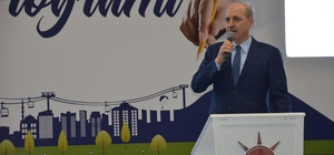 """Numan Kurtulmuş: """"Türkiye, dünyanın en büyük 10 ekonomisinden birisi olacak"""" AK Parti Genel Başkan Vekili Numan Kurtulmuş: """"Dünya ile mücadele eden büyük bir Türkiye hedefliyoruz"""" """"Türkiye, bir müddet önce piyade tüfeğini dahi dışarıdan alan bir Türkiye'ydi, şimdi kendi savunma sanayimizde ilerliyoruz"""""""