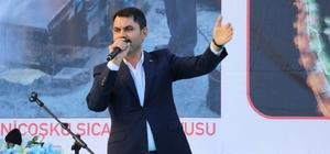 "Bakan Kurum: ""CHP sürekli takoz olur"""