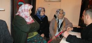 Ömer Selim Alan'a Tepebaşı Mahallesi'nde sevgi seli