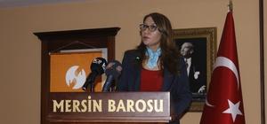 """'Avukatlar için mülteci hukuku' semineri Mersin Barosu Başkan Yardımcısı Demircioğlu: """"Sığınma hakkı, temel insan hakkıdır"""""""