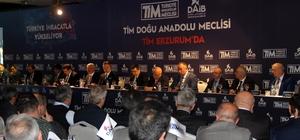 Türkiye İhracatçılar Meclisi Erzurum'da toplandı