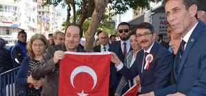 Başkan Çelik'ten vatandaşlara 2 bin türk bayrağı