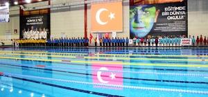 ANALİG yüzme Türkiye Grup Birinciliği sona erdi