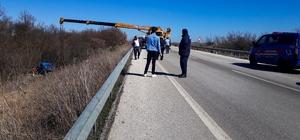Edirne'de askeri araç kaza yaptı: 4 yaralı