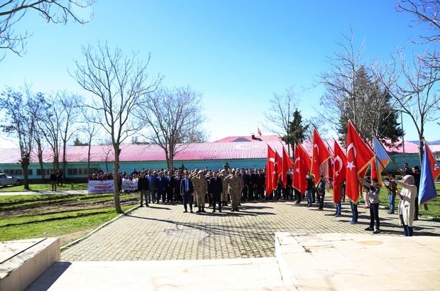 Lice'de 18 Mart Çanakkale Zaferi etkinlikleri