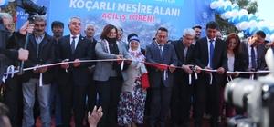 Başkan Çerçioğlu, Koçarlı'da mesire alanının açılışını yaptı