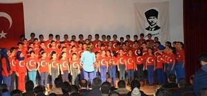 Güroymak'ta 18 Mart Şehitleri Anma Günü ve Çanakkale Zaferi'nin 104. yıldönümü