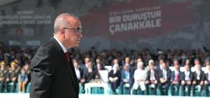 Çanakkale Zaferi'nin 104. yılı anıldı Cumhurbaşkanı Erdoğan ve Bakan Akar, şehit mezarlarına çiçek bıraktı Şehitler Abidesi'nde tören düzenlendi