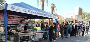 Aydın Büyükşehirden 18 Mart Şehitler Gününde lokma hayrı