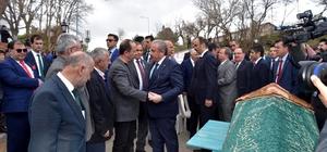 TBMM Başkanı Şentop'tan CHP'li Gürkan'a taziye ziyareti
